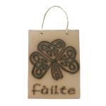 Failte+plaque