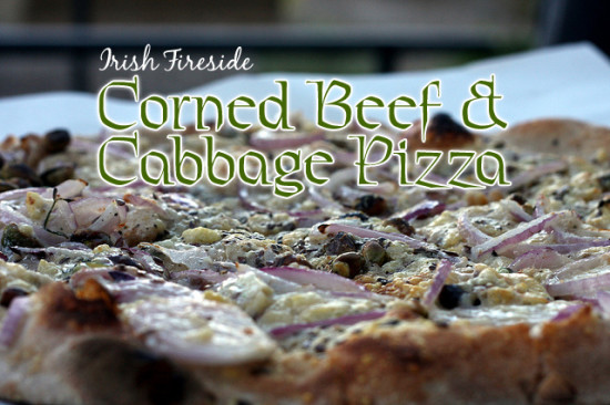 Corned Beef and Cabbage Pizza - Photo by David Vo via Flickr Creative Commons http://www.flickr.com/photos/sygyzy/4921309593/