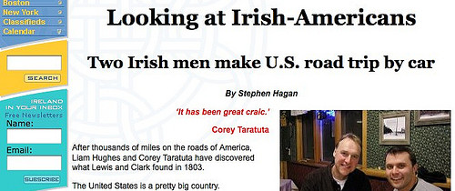 The Irish Emigrant