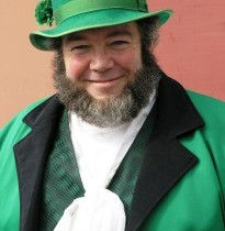 A Chat with an Extra Large Leprechaun