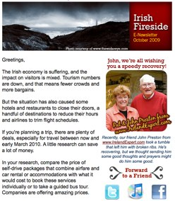 Our October 2009 E-Newsletter