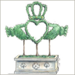 Celtic and Irish Topiary Art from Michelle Masters