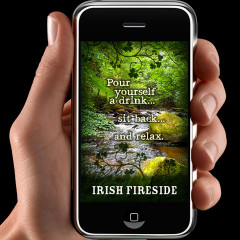 Irish Fireside on Your iPhone