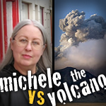 #102 When Volcanos Interfere with Your Trip to Ireland & Michele vs the Volcano