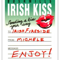 Bushmills Irish Kiss