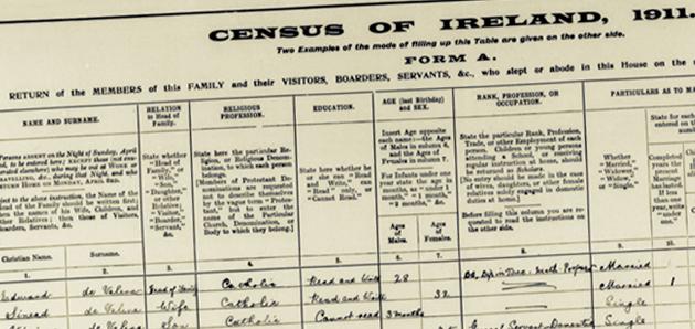 1901 Irish Census