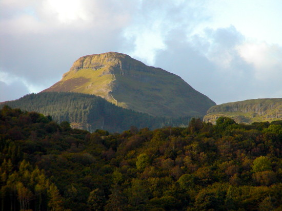 Ben Bulben looms above Yeats' Country. Photo by Georgia Beaverson.