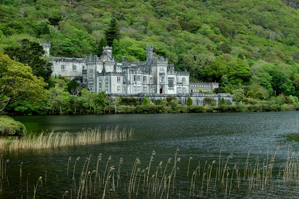 The Abby at Kylemore Abbey.