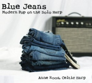 Anne Roos' Blue Jeans Celtic Harp CD