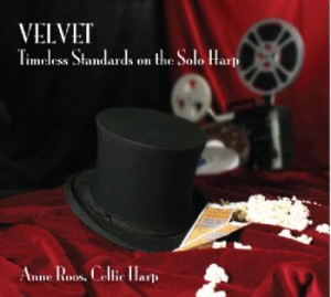 Anne Roos' Velvet Celtic Harp CD