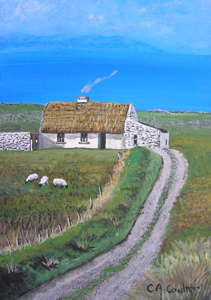 Doolin Cottage by Charolette A Coulter