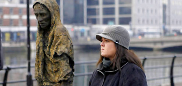 rosie o'donnell in Ireland for genealogy