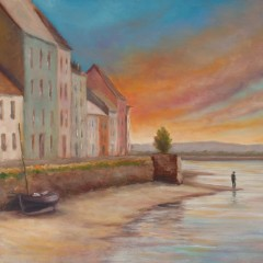 Artist's Eye: The Long Walk, Where Galway Bay Meets the River Corrib