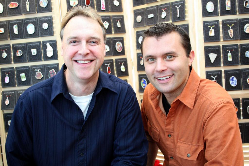 Liam Hughes and Corey Taratuta, Hosts of the Irish Fireside Podcast