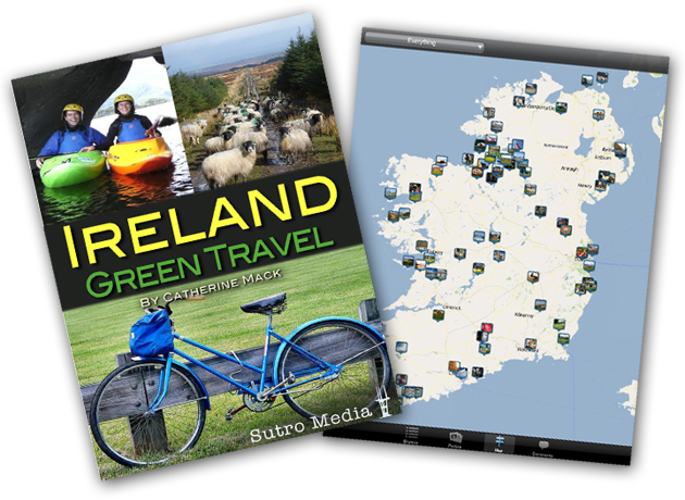 Ireland Green Travel App for iPhone and iPad by Catherine Mack