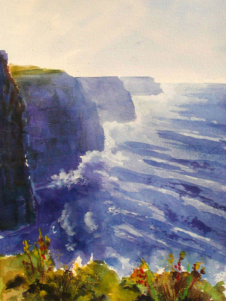 Cliffs of Moher by Linda Hammelman
