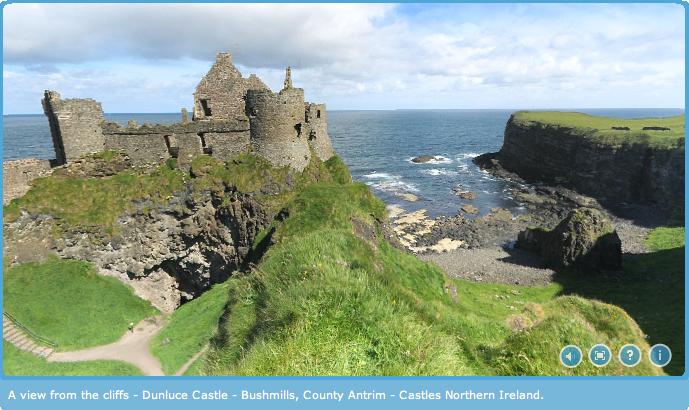Dunluce Castle Panorama