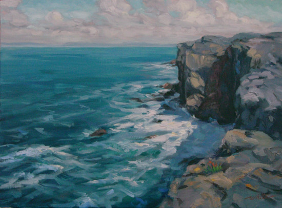Coast of Clare by Jacqueline White