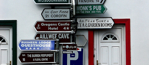 Most-Photographed Signpost in Ireland Removed