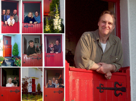Liam discovers the red door when traveling ireland