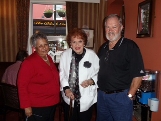 Betty and Jim Sanford... and Maureen O'Hara!