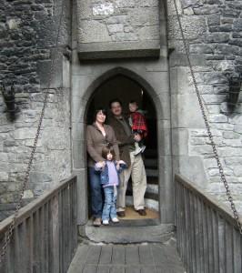 The Halsteds of Bunratty www.irelandwithkids.com