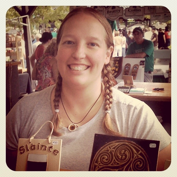 Katie from Earthen Craft Pottery