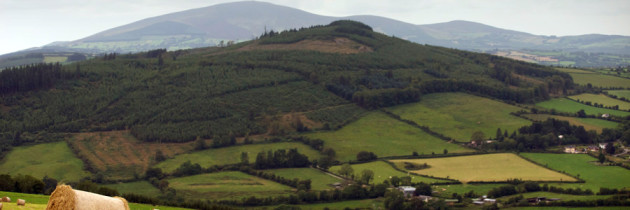 Hillwalking to the Stone Circle on Kilmacoliver Hill on the Kilkenny and Tipperary Border