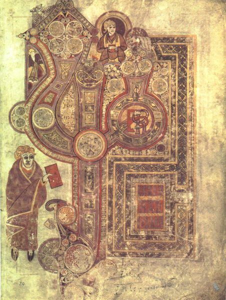 Book of Kells image from Wikipedia