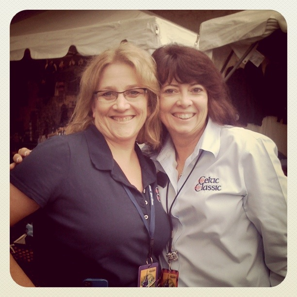 Margie & Jayne - two of the crew who make the festival happen.