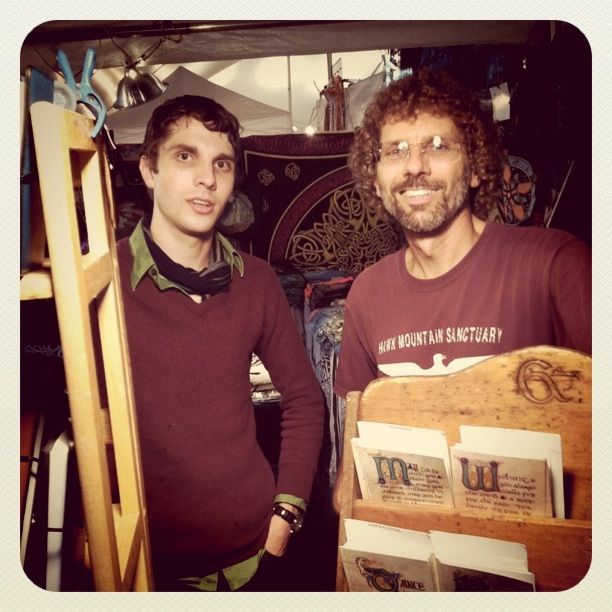 James & Randy from Celtic Folkwork- www.pamelasforgetmenots.com
