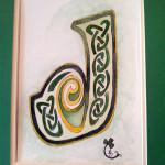 Celtic knotwork J