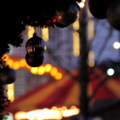 The Christmas Market in Eyre Square, Galway