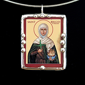 St Brigid and Her Cross