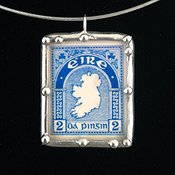 "Eire Stamp and ""May the road rise up to meet you"""
