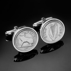 Giveaway: Irish Coin Cufflinks