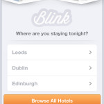 Blink Home Screen