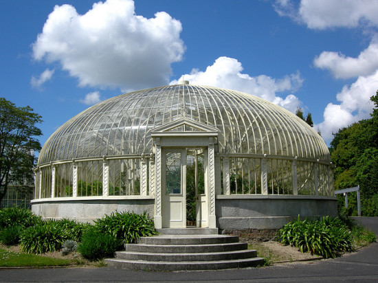 Glass House at the National Botanic Gardens - Photo by Corey Taratuta