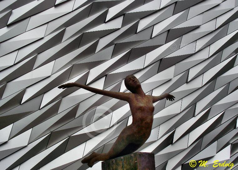 """Titanica"" by sculptor Rowan Gillespie"