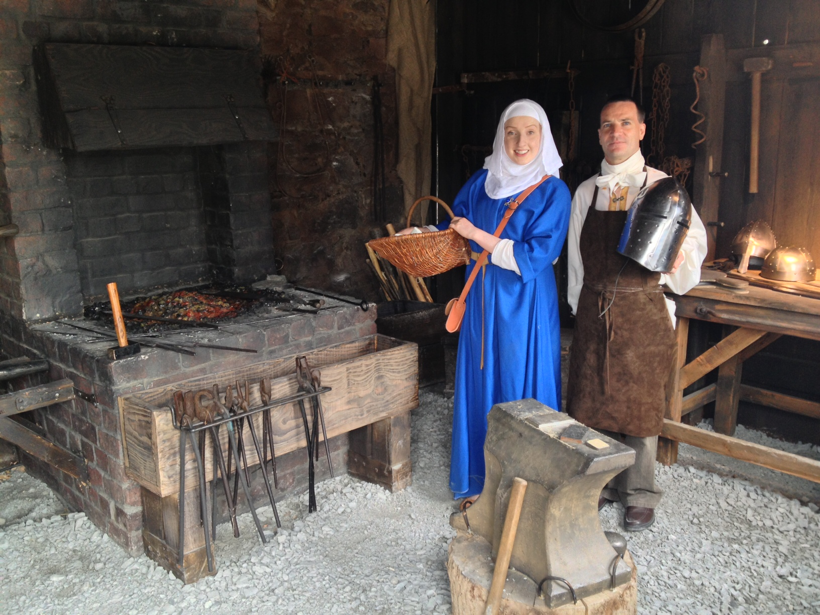 A bit of living history with costumed guides.