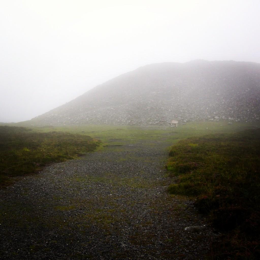 Medb's Tomb atop Knocknarea.