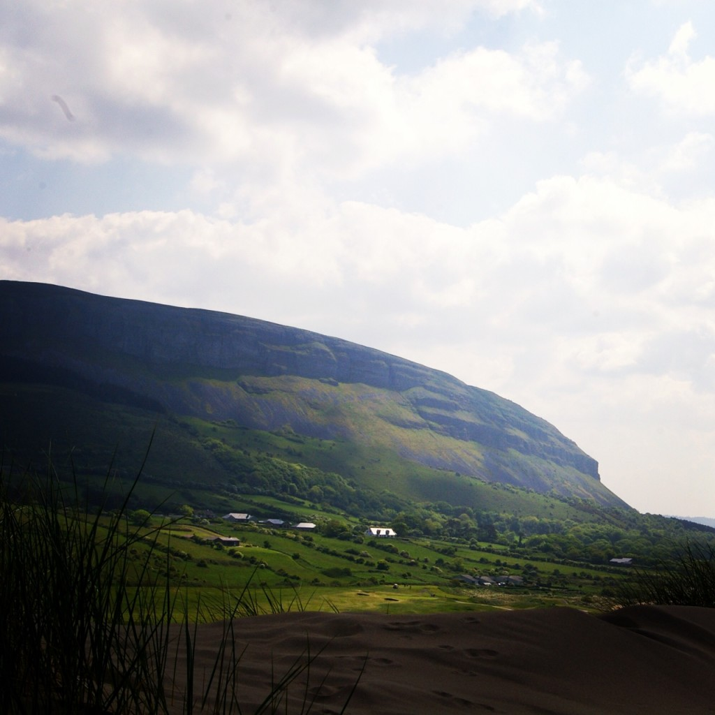 The view of Knocknarea from Strandhill.