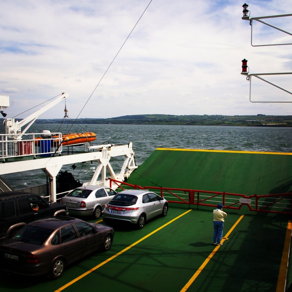 Aboard the Tarbert/Killimer Ferry