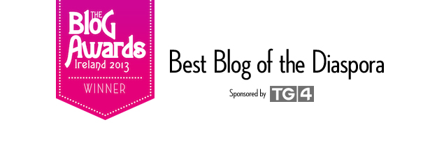 And the Blog Awards Ireland Winner is…