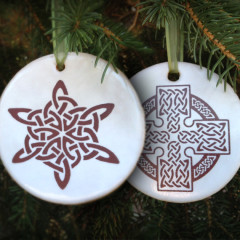 Celtic Christmas Ornaments for 2013