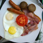 Irish breakfast in County Clare.