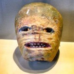 Halloween has Irish roots... which includes the carving of turnips, the precursor to the Jack-O-Lantern. This pic is from the Museum of Country Life in Castlebar, Co Mayo.
