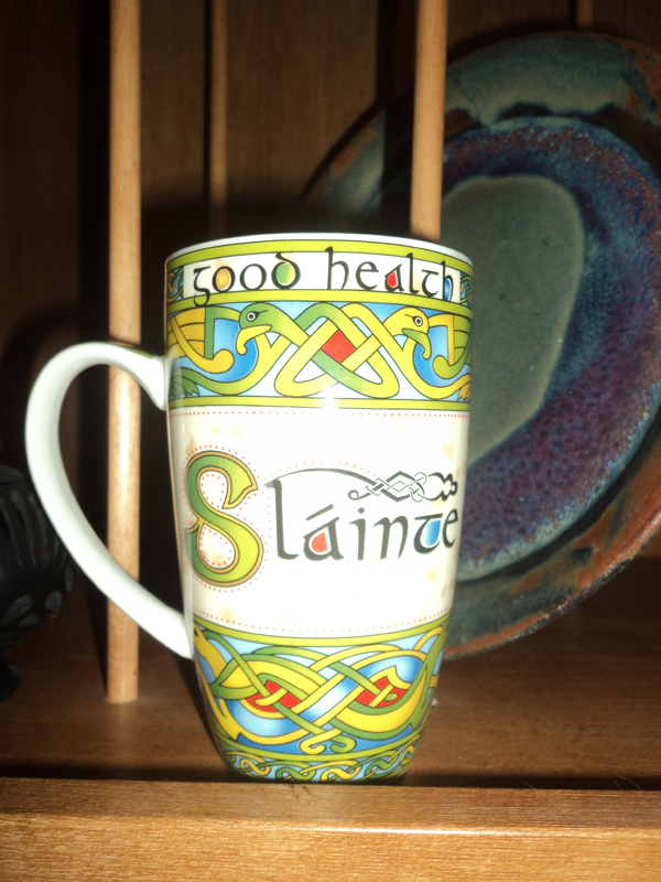 I got this lovely mug from Janice in Ohio.  I love it. LOVE IT. -- Camille in Utah