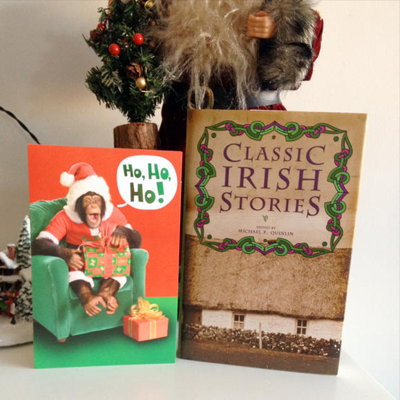 Just got my gift from Keith in Indiana, a book of Irish tales. -- Debi in Michigan