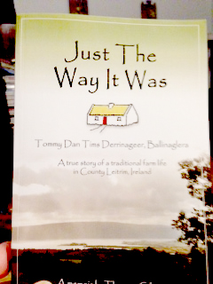 My Secret Santa was Bill from New York and he sent me a lovely book called Just The Way It Was. The book is by Thomas Gilrane, who grew up very near his (Bill's) grandfather in County Leitrim, Ireland. What a great gift!! -- Teresa in Idaho